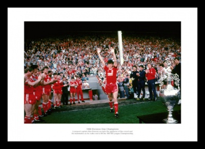 Liverpool 1988 League Champions Alan Hansen Photo Memorabilia