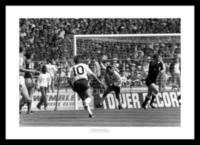 Luton Town 1988 League Cup Final Stein Goal Photo Memorabilia