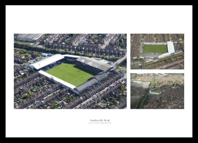 Luton Town Kenilworth Road Stadium Aerial Photo Memorabilias