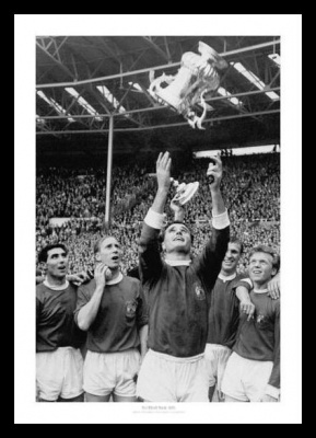 Manchester United 1963 FA Cup Final Team Photo Memorabilia