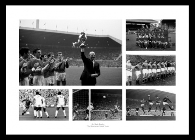 Manchester United The Matt Busby Years Photo Memorabilia