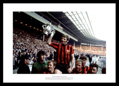 Manchester City 1970 League Cup Final Team Photo Memorabilia