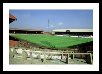 Ayresome Park Historic Middlesbrough FC Old Stadium Photo Memorabilia