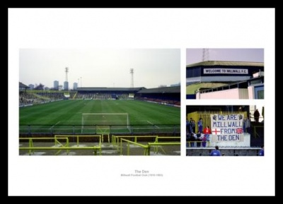 The Old Den Football Stadium Millwall FC Photo Memorabilia