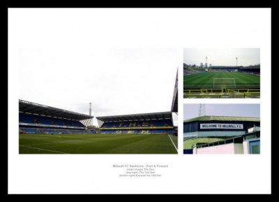 Millwall FC The Den Stadiums Past and Present Photo Memorabilia