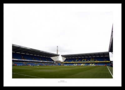 Millwall FC The Den Stadium Framed Photo Memorabilia