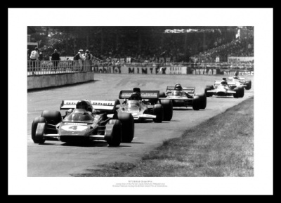 Silverstone 1971 British Grand Prix Photo Memorabilia