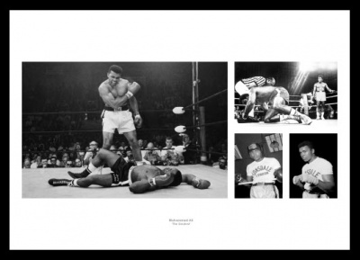 Muhammad Ali Boxing Legend Photo Memorabilia