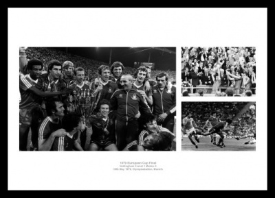 Nottingham Forest 1979 European Cup Final Photo Memorabilia