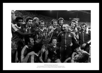Nottingham Forest 1979 European Cup Final Team Photo Memorabilia
