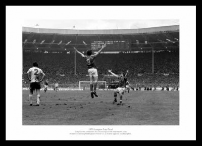 Nottingham Forest 1979 League Cup Final Goal Photo Memorabilia