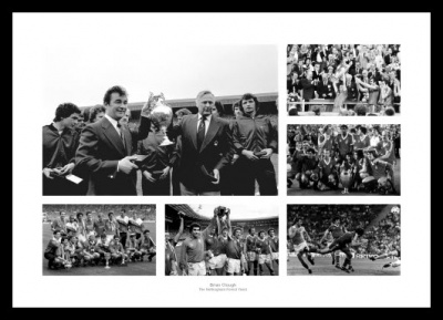 Brian Clough Memorabilia - The Nottingham Forest Years Photo Memorabilia