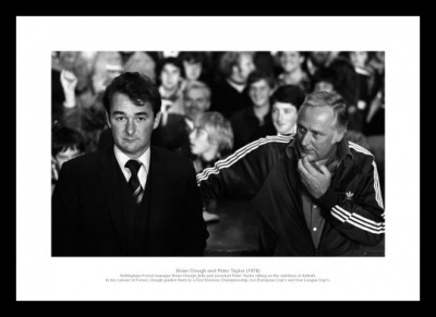 Nottingham Forest Brian Clough & Peter Taylor Photo Memorabilia