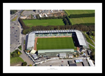 Plymouth Argyle Home Park Stadium Aerial Photo Memorabilia