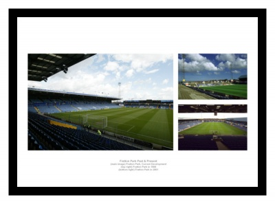 Portsmouth FC Fratton Park Stadium Past & Present Photo Memorabilia