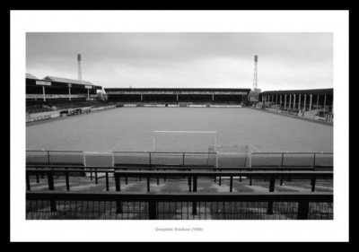 Preston North End  Deepdale Football Stadium 1990 Photo Memorabilia
