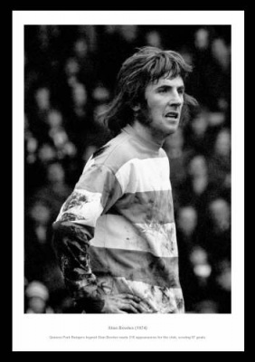 Queens Park Rangers Legend Stan Bowles Photo Memorabilia