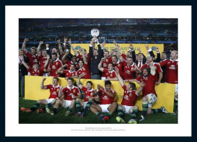 British & Irish Lions 2013 Australian Tour Team Photo Memorabilia