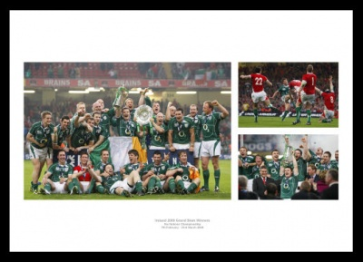 Ireland Rugby Team 2009 Grand Slam Photo Memorabilia
