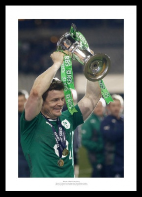 Brian O'Driscoll Last Game for Ireland 2014 Photo Memorabilia