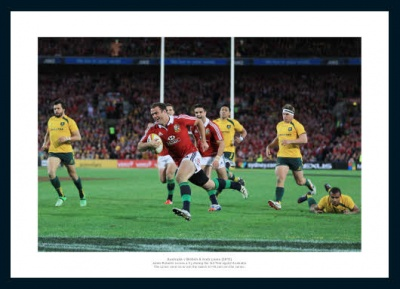 Jamie Roberts British & Irish Lions Australia 2013 Tour Photo Memorabilia