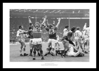 Leeds 1978 Rugby League Challenge Cup Final Photo Memorabilia