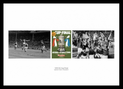 Ipswich Town 1978 FA Cup Final Photo Montage