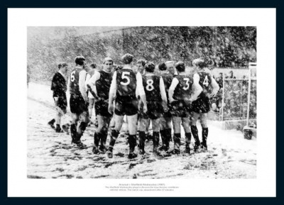 Sheffield Wednesday Match Abandoned 1967 Photo Memorabilia