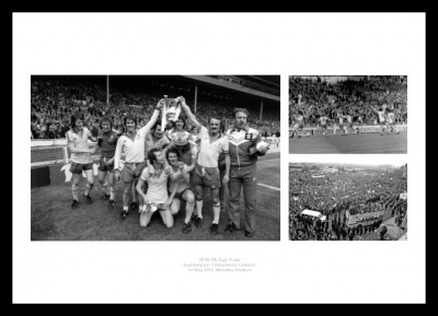 Southampton FC 1976 FA Cup Final Photo Memorabilia