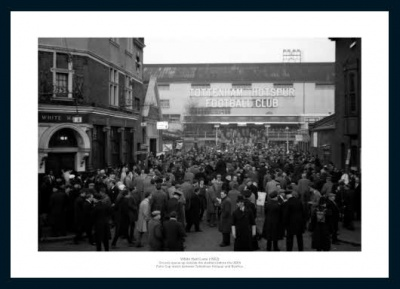 Tottenham Hotpsur White Hart Lane 1962 Photo Memorabilia
