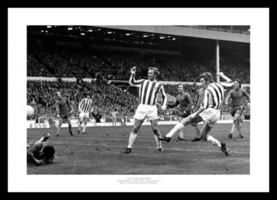 Stoke City 1972 League Cup Final Photo Memorabilia