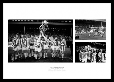 Stoke City 1972 League Cup Final Photo Memorabilia  Memorabilia