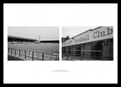 Stoke City The Victoria Ground Historic Photo Memorabilia