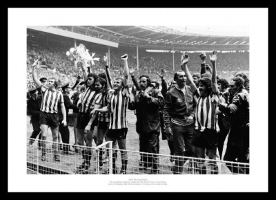 Sunderland 1973 FA Cup Final Team Photo Memorabilia