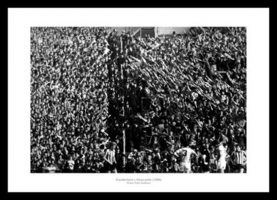 Roker Park Stadium Sunderland v Newcastle 1980 Photo Memorabilia