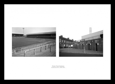 Sunderland AFC Roker Park Football Stadium Photo Memorabilia