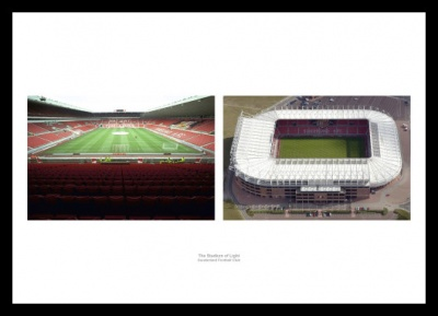 The Stadium of Light Sunderland AFC Photo Memorabilia