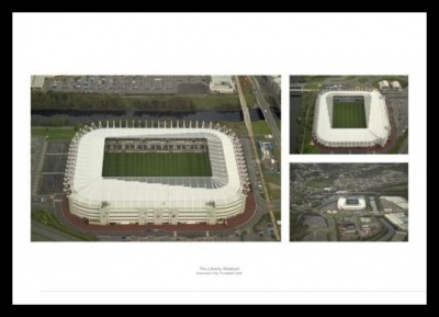Liberty Stadium Aerial Views - Swansea City Stadium Photos