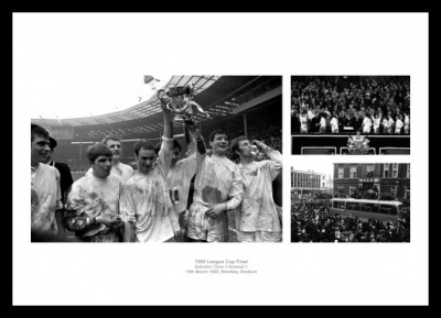 Swindon Town 1969 League Cup Final Photo Memorabilia