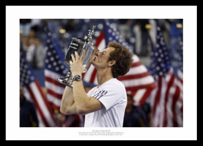 Andy Murray Wins 2012 US Open Photo Memorabilia