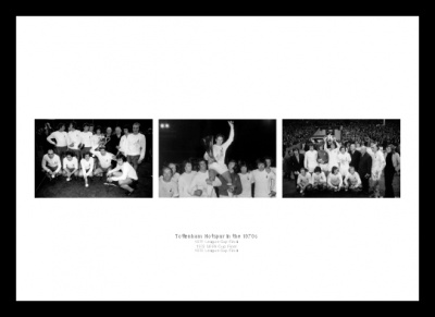 Tottenham Hotspur in the 1970s Print Montage