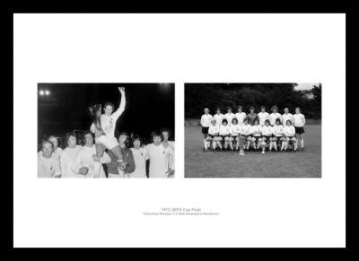 Tottenham Hotspur 1972 UEFA Cup Final Photo Memorabilia