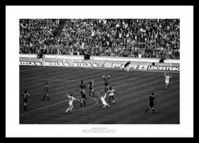 Tottenham Hotspur 1982 FA Cup Final Hoddle Goal Photo Memorabilia