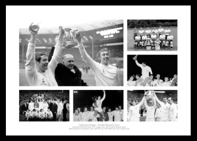 Tottenham Hotspur The Bill Nicholson Years Photo Memorabilia