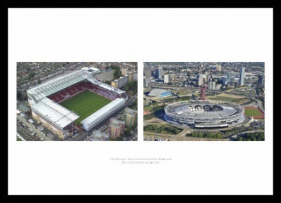 West Ham Stadiums - Boleyn Ground & London Stadium Photos