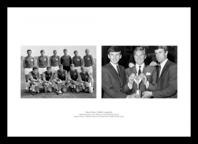 West Ham United 1960s Legends Print Memorabilia