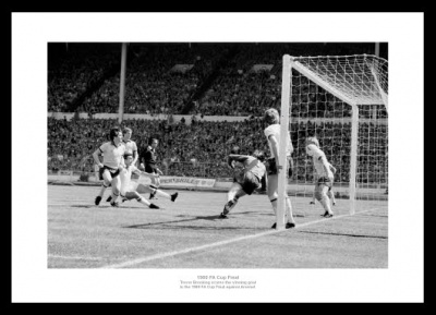 West Ham United 1980 FA Cup Final Brooking Goal Photo Memorabilia