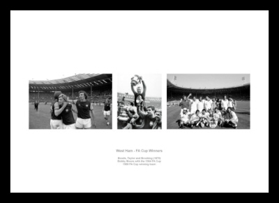 West Ham United FA Cup Legends Photo Memorabilia