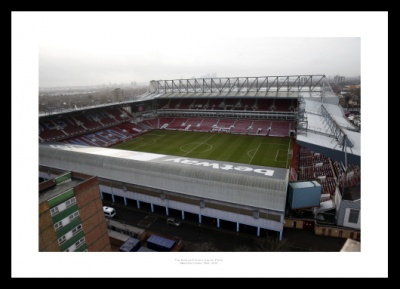 Boleyn Ground (Upton Park) West Ham United Stadium Photo Memorabilia