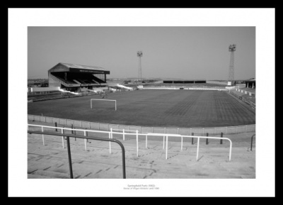 Wigan FC Springfield Park Historic Football Stadium Photo Memorabilia